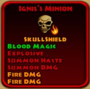 Ignis's Minion