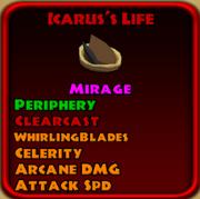Icarus's Life