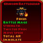 Crimson Battlegear
