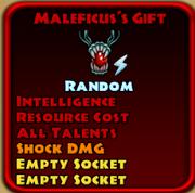 Maleficius's Gift