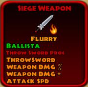 Siege Weapon