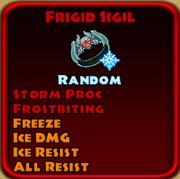 Frigid Sigil
