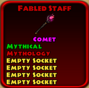 Fabled Staff