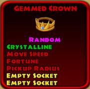 Gemmed Crown
