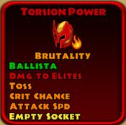 Torsion Power