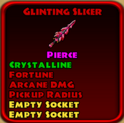Glinting Slicer