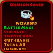 Crimson Cover