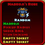 Nadroji's Robe
