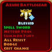 Azure Battlegear