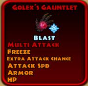 Golex's Gauntlet