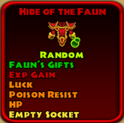 Hide of the Faun