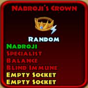 Nadroji's Crown