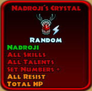 Nadroji's Crystal