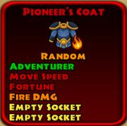 Pioneer's Coat