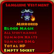 Sanguine Vestment