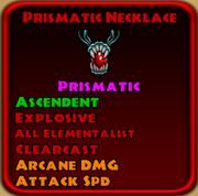 Prismatic Necklace