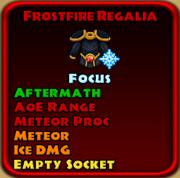 Frostfire Regalia