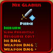 Nix Gladius