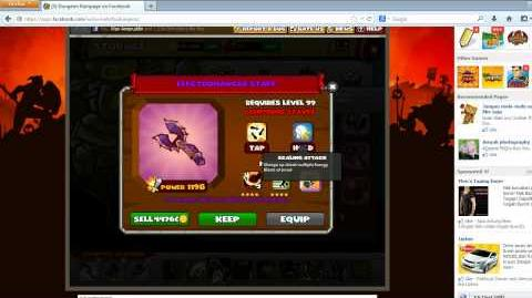 Opening 23 Legendary Weapons in Dungeon Rampage HD