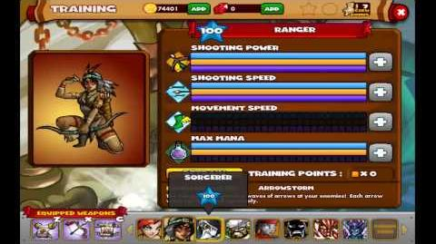 Dungeon Rampage on Facebook - Training Points All Heroes - 17.04