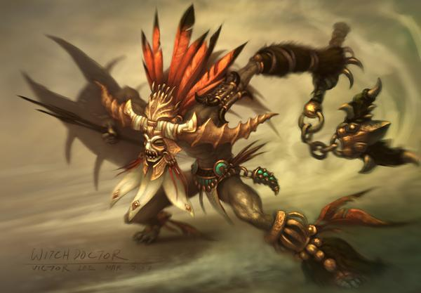 Witch Doctor (3 5e Class) | Dungeons and Dragons Wiki