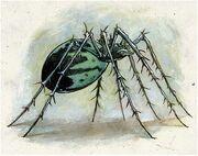 Jade Spider by Vince Locke
