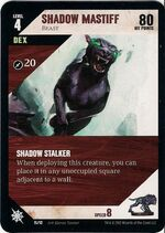 Shadow mastiff card