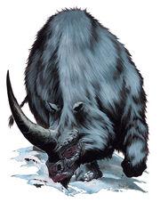 Dire Rhinoceros