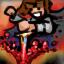 Blood geyser strike