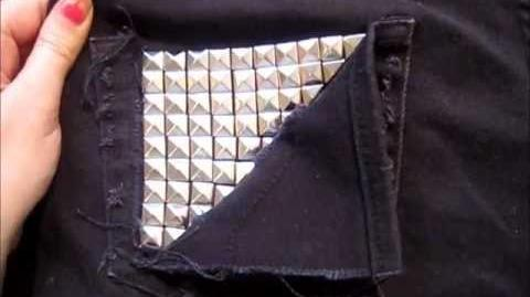 HOW TO - Stud Your Clothes