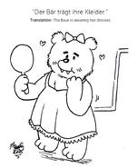 Toon beardresses