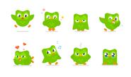 Duolingo 2018 logo expressions