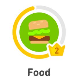 Food level 2
