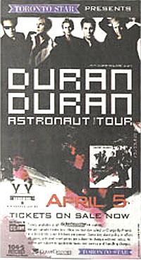 Poster duran duran april 5 2005