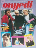 Onyedi 1987 TURKISH MAGAZINE wikipedia duran duran george michael
