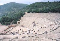 Cesme Amphitheatre WIKIPEDIA DURAN DURAN TURKEY