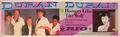 Strip advert duran duran duran 1982 photography by nancy campbell