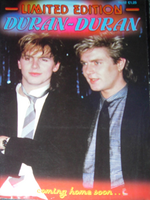 LIMITED EDITION duran duran magazine wikipedia 1984 12