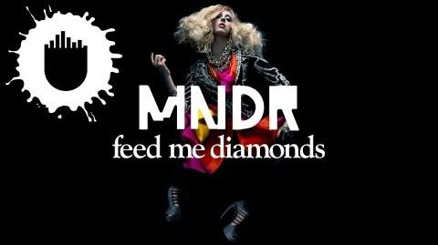 MNDR - Feed Me Diamonds (Radiant Cut Remix) (Cover Art)