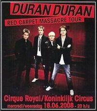 Cirque Royal in Brussels duran duran wikipedia