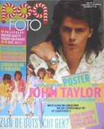 POP PHOTO MAGAZINE 12 1985 DURAN DURAN WIKIPEDIA LESA WOOLLEY TESCO NEW OSCOTT BIRMINGHAM