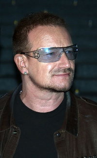 Bono at the 2009 Tribeca Film Festival
