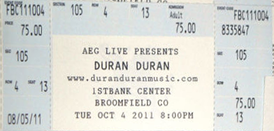 File:Ticket bloomfield Broomfield, CO (USA), 1st Bank Center duran duran discogs.png