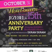 Jezebel's 15th Anniversary Jezebel's 15th Anniversary Party, Tavern Park, Atlanta, GA, USA duran duran magazine poster