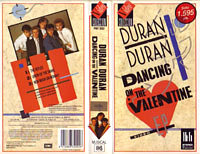 K 6 dancing on the valentine VHS · VIDEO COLECCIÓN-EMI · SPAIN · PMV 2002 duran duran wikipedia