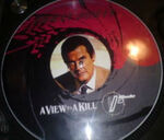 Duran Duran - A view to a kill 12 inch James bond Picture Disc Promo wikipedia