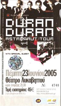 Terra Vibe, Athens, Greece DURAN DURAN 2005