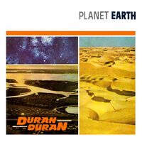 8 planet earth uk EMI 5137 DURAN DURAN SINGLE