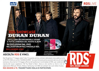 Edel rds live italy rome duran duran