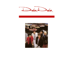 Duran london 1981 front